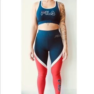 FILA work out outfit